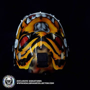 TUUKKA RASK UN-SIGNED GOALIE MASK BOSTON CUSTOM GRIM REAPER CHIN TRIBUTE EDITION