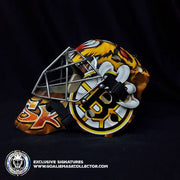 TUKKA RASK UN-SIGNED GOALIE MASK BOSTON TRIBUTE EDITION