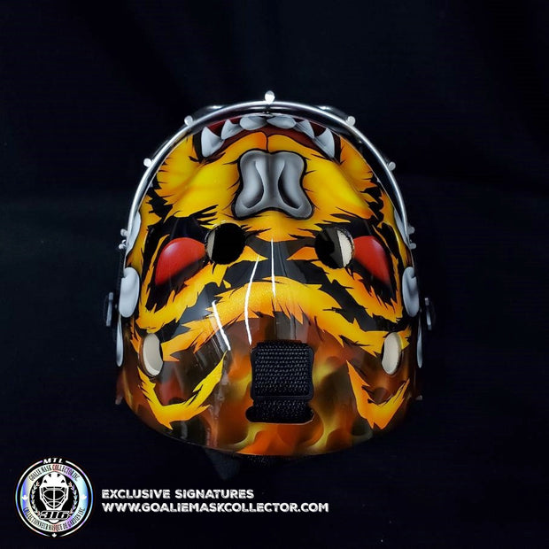 TUUKKA RASK UN-SIGNED GOALIE MASK BOSTON TRIBUTE EDITION