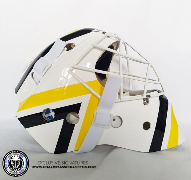 MATT MURRAY UN-SIGNED GOALIE MASK PITTSBURGH EDITION