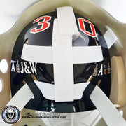 MARTIN BRODEUR UN-SIGNED GOALIE MASK NEW JERSEY EDITION