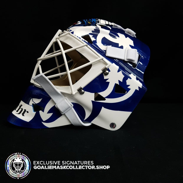 GRANT FUHR UN-SIGNED GOALIE MASK TORONTO EDITION