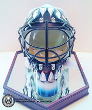 BRIAN HAYWARD UN-SIGNED GOALIE MASK SAN JOSE EDITION