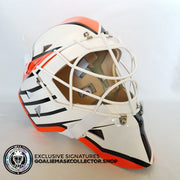 RON HEXTALL UN-SIGNED GOALIE MASK PHILADELPHIA EDITION