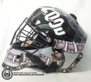 KELLY HRUDEY UN-SIGNED GOALIE MASK HOLLYWOOD EDITION