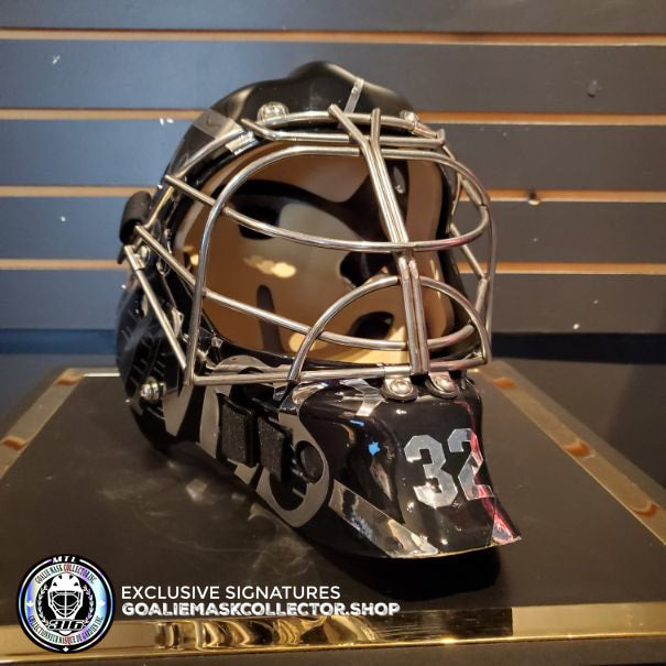 JONATHAN QUICK SIGNED AUTOGRAPHED GOALIE MASK KELLY HRUDEY LOS ANGELES TRIBUTE AS Edition