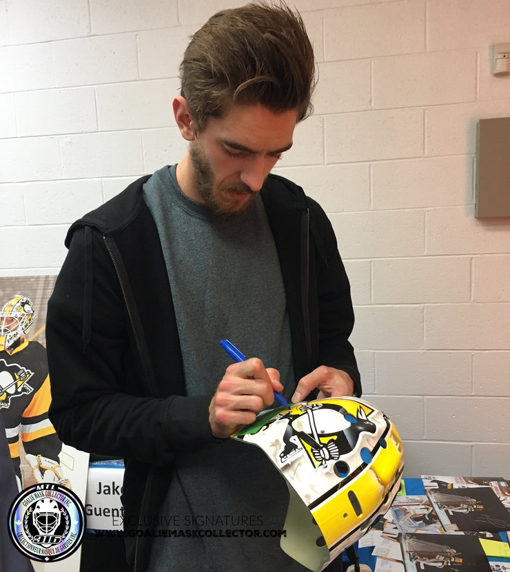 MATT MURRAY SIGNED AUTOGRAPHED GOALIE MASK 2016-17 STANLEY CUP COA - ICE READY