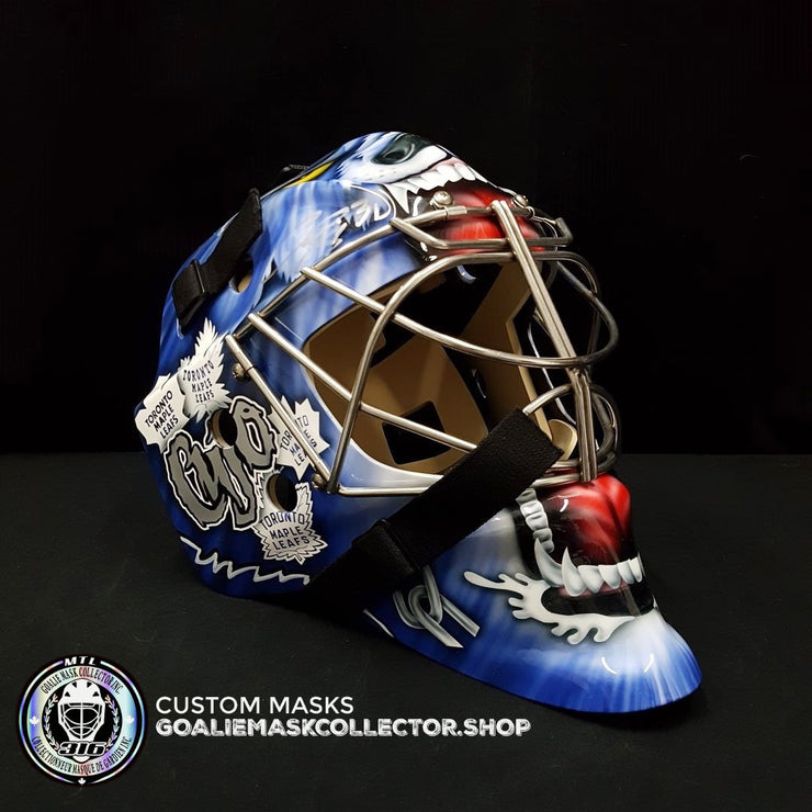 CURTIS JOSEPH SIGNED AUTOGRAPHED GOALIE MASK TORONTO 2019 AS EDITION - COA