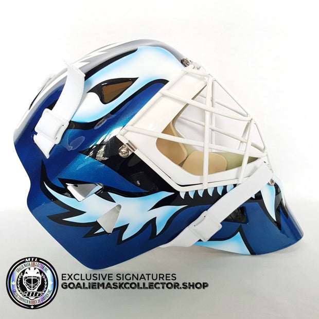 FELIX POTVIN SIGNED AUTOGRAPHED GOALIE MASK COMPLEX TORONTO - 2018 AS Edition - Ice Ready