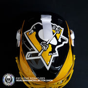 TOM BARRASSO SIGNED AUTOGRAPHED GOALIE MASK PITTSBURGH  1991-1992 STANLEY CUP Edition Ice Ready