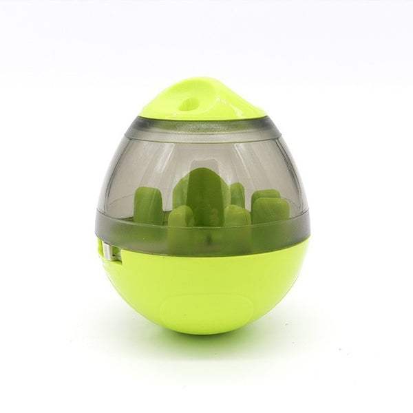 Interactive Dog Treat Dispenser in Various Colors