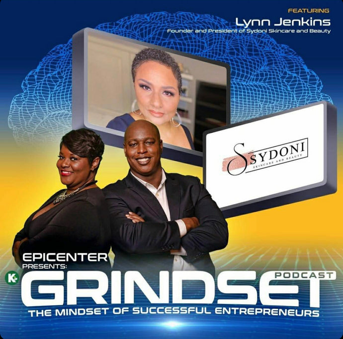 SHARING THE SYDONI JOURNEY ON THE GRINDSET PODCAST