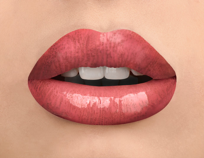 shade #9 Lustre Vinyl Finish Lip Gloss