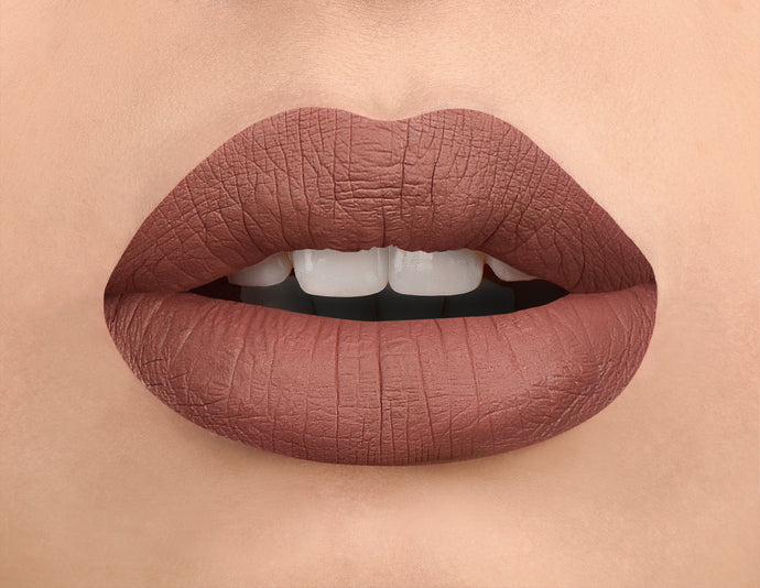 Shade #6002 Matte Liquid Lipstick with Free Matching Lip Liner! Gift Box Included