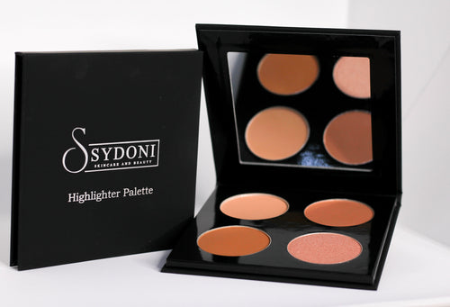 Buy one get one 1/2 off POWDER HIGHLIGHTER AND CONTOUR PALETTE (MEDIUM SHADES) 5g PER COLOR