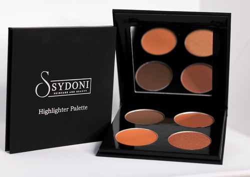 Buy one get one 1/2 off POWDER HIGHLIGHTER AND CONTOUR PALETTE (DEEP SHADES) 5g. PER COLOR