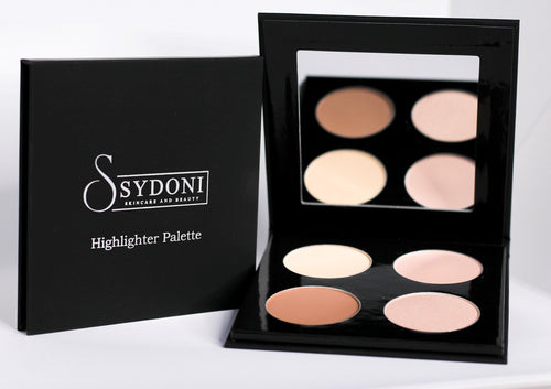 Buy one get one 1/2 off POWDER HIGHLIGHTER AND CONTOUR PALETTE (LIGHT SHADES) 5g. PER COLOR