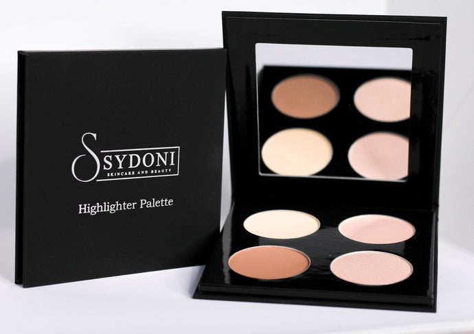 POWDER HIGHLIGHT AND CONTOUR PALETTE (LIGHT SHADES) 5g. PER COLOR