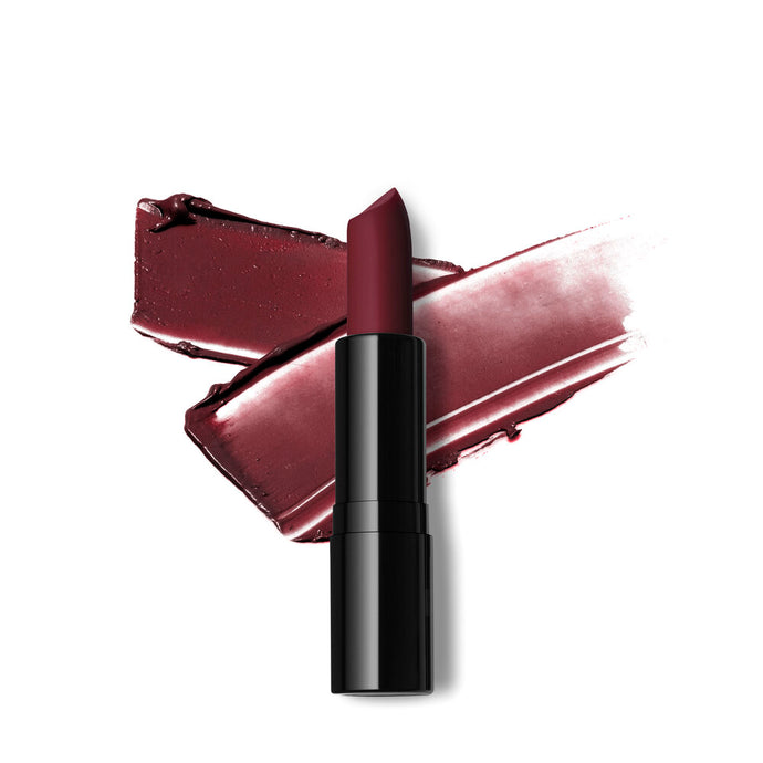 Belle Berry Creamy Finish Lipstick-Deep plum with a brown undertone