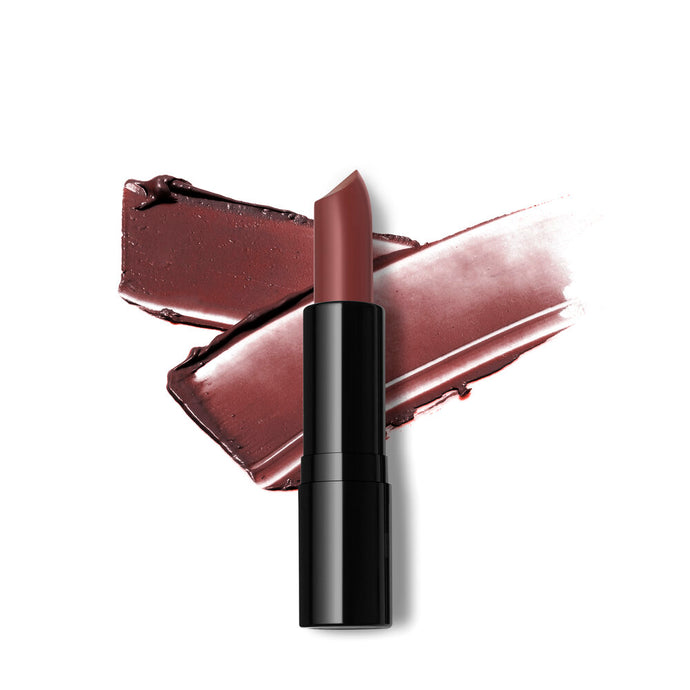 Cheeky Chestnut Creamy Finish Lipstick- Nude Brown with Warm Yellow Undertone