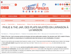 Sortir à Paris parle de Philie & The Jar !