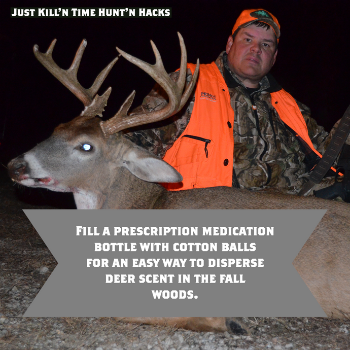 Hacks for Hunting #1: Prescription Deer Scent