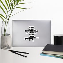 Load image into Gallery viewer, Emotional Support Gun Sticker