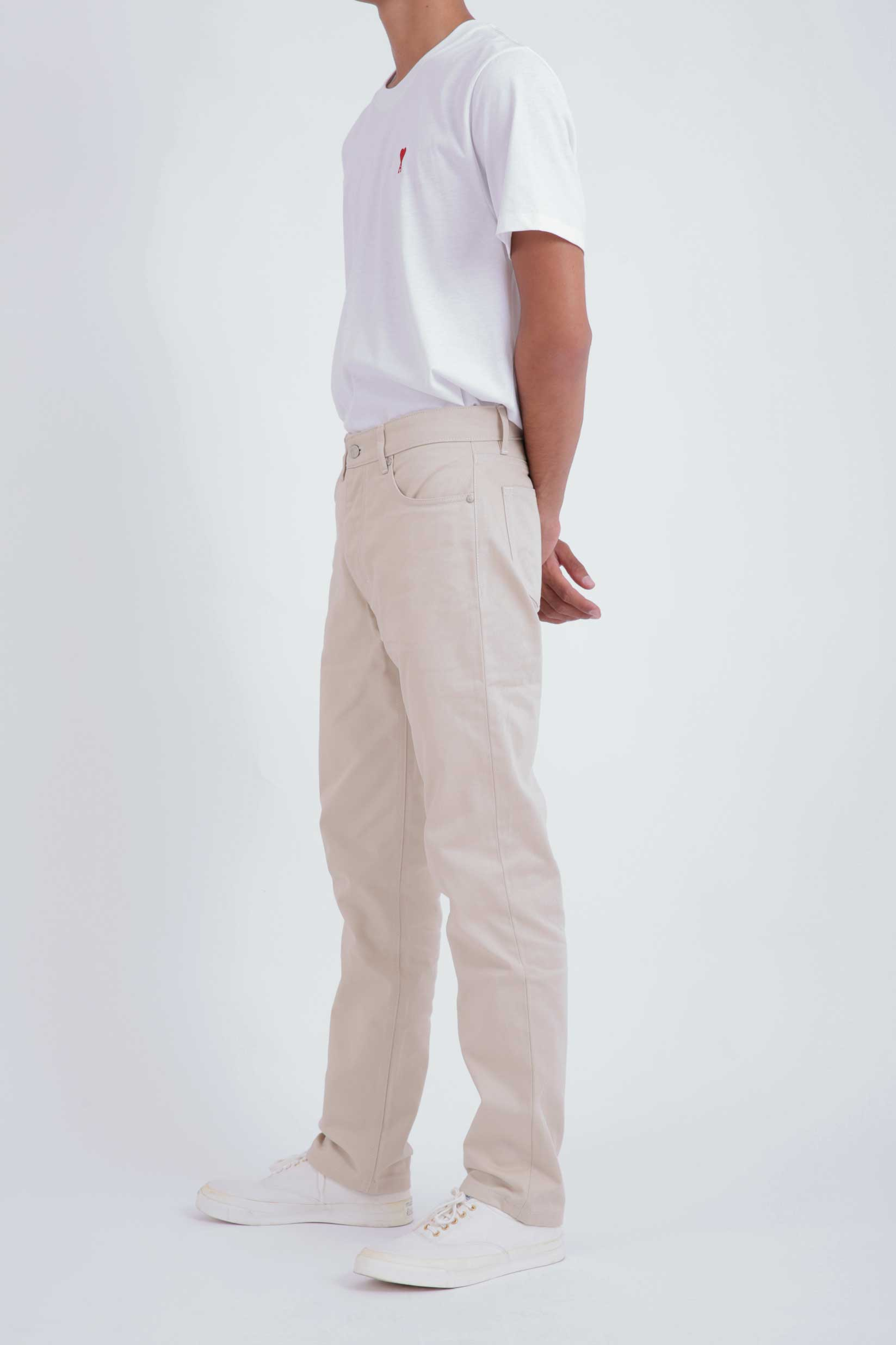 Straight Fit 5 Pocket Jeans
