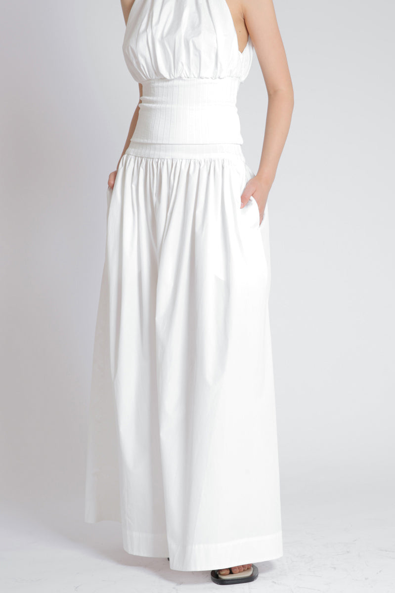 Esse Ribbed Maxi Skirt