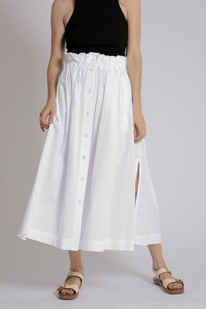Commodore White Skirt