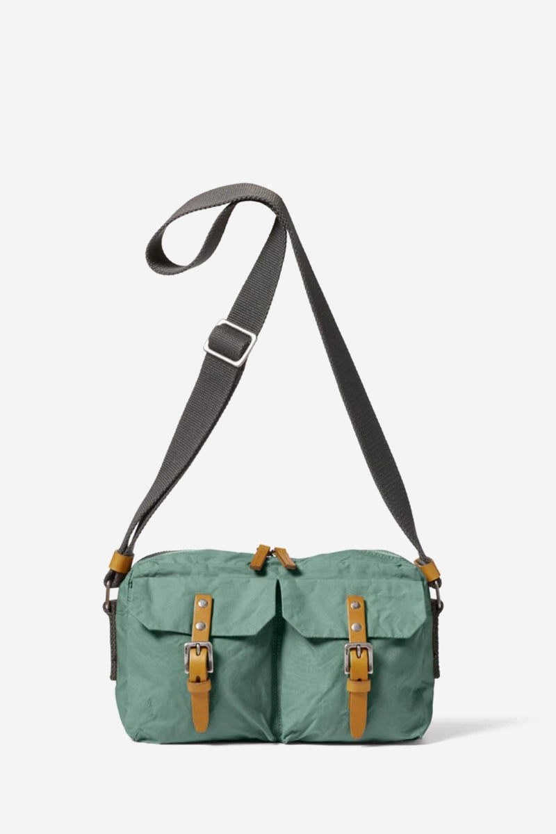Franco Waxed Cotton Green Crossbody