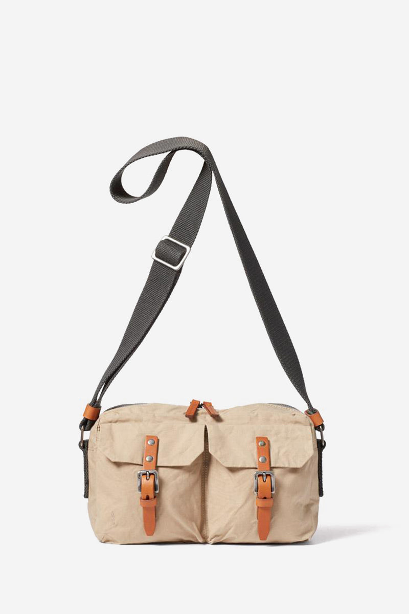 Franco Waxed Cotton Putty Crossbody