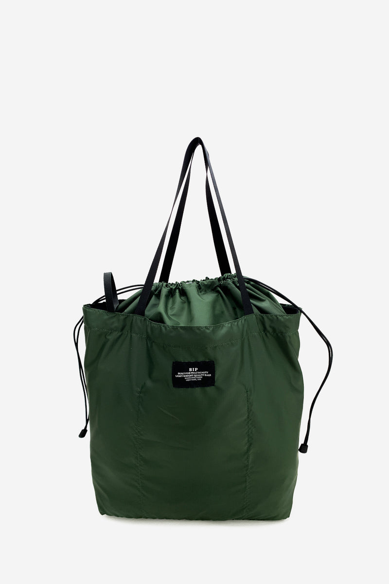 Packable Large Olive Tote