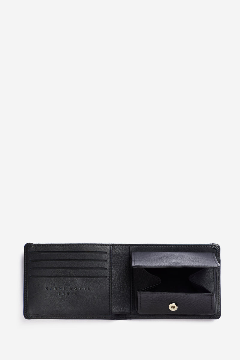 Black Minimalist Coin Wallet