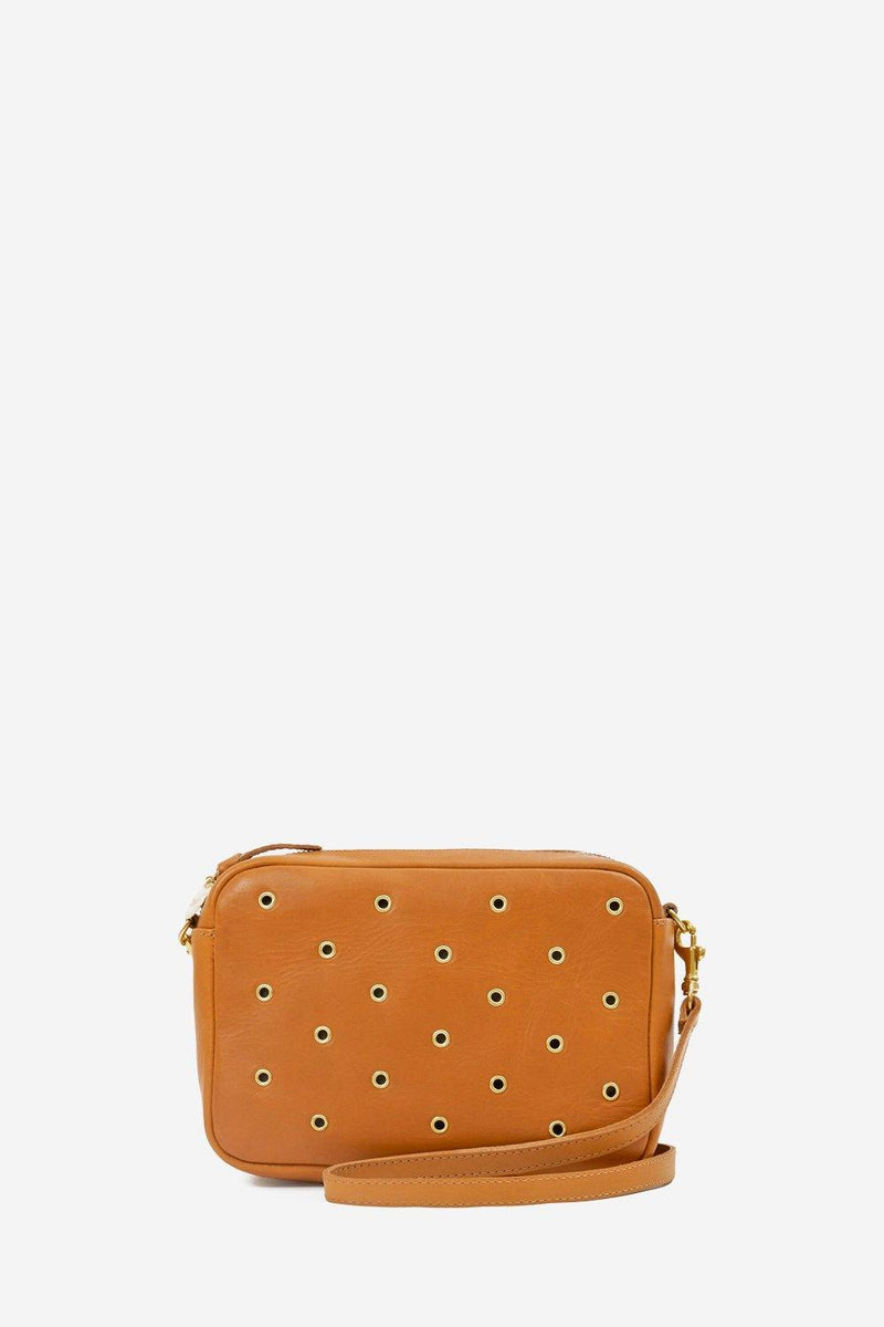 Midi Sac Cuoio With Grommets