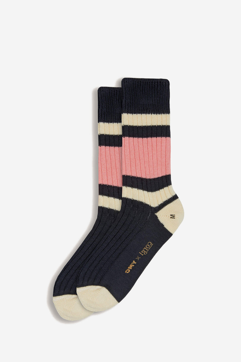Rugby Cotton Socks Grey