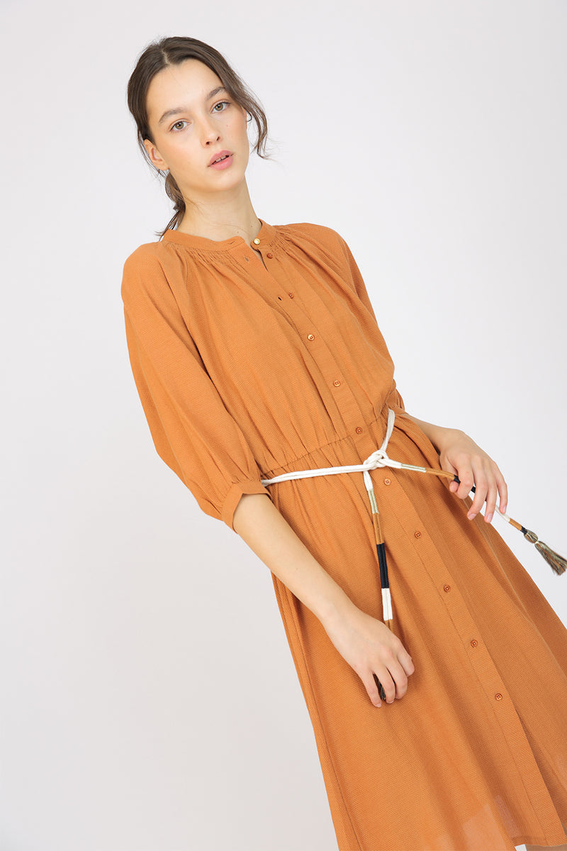Cometa Belted Dress