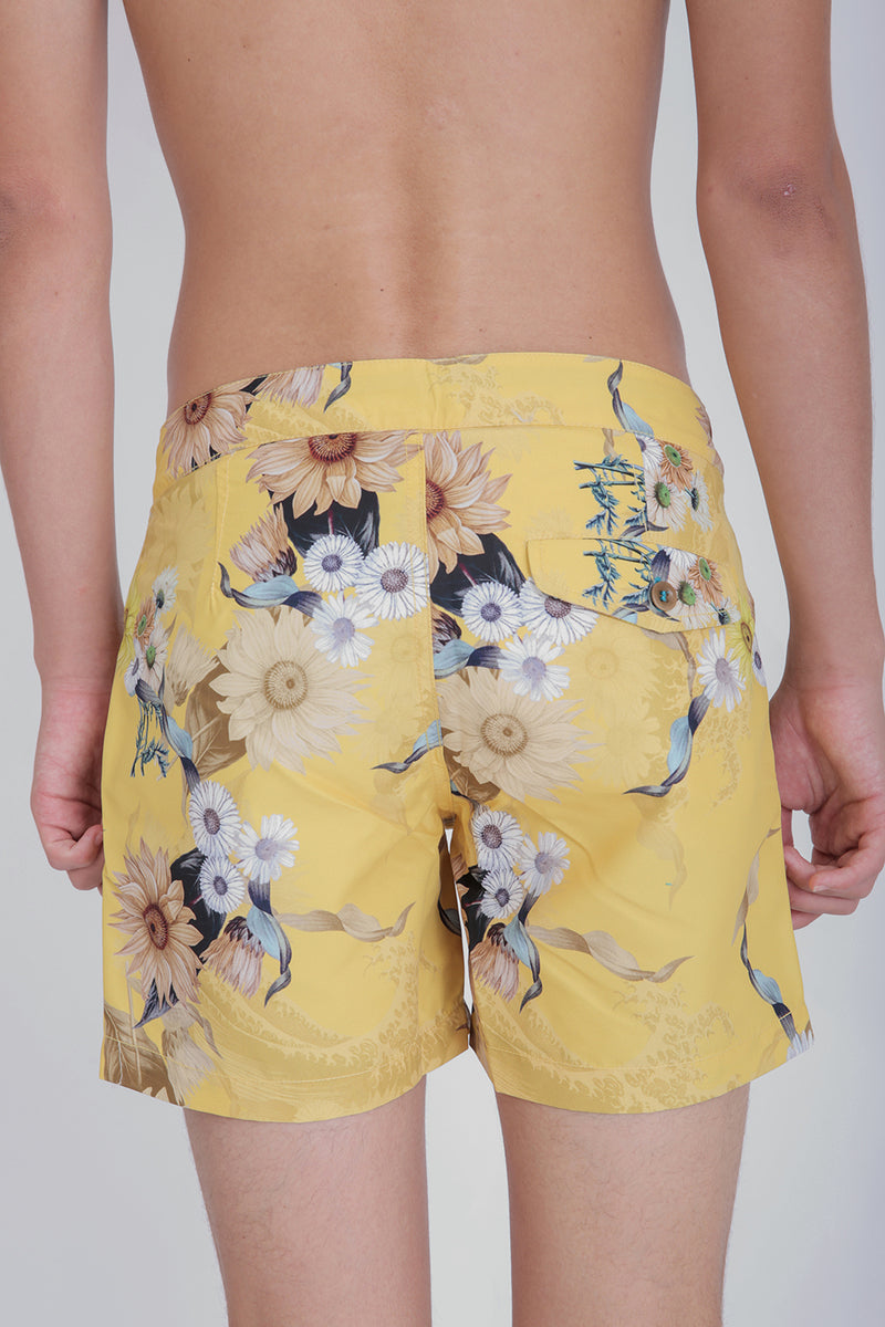 Buckler Wave Flower Shorts