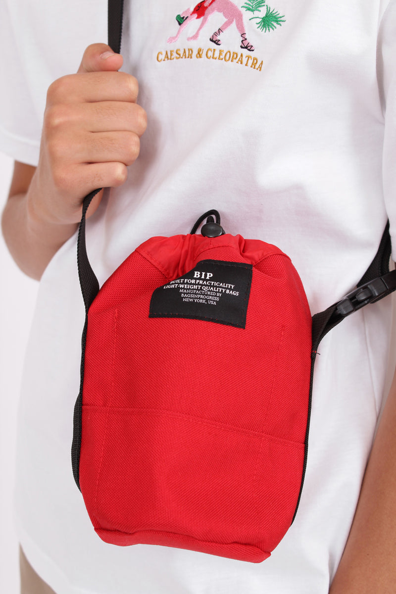 Bucket Belt Red Bag