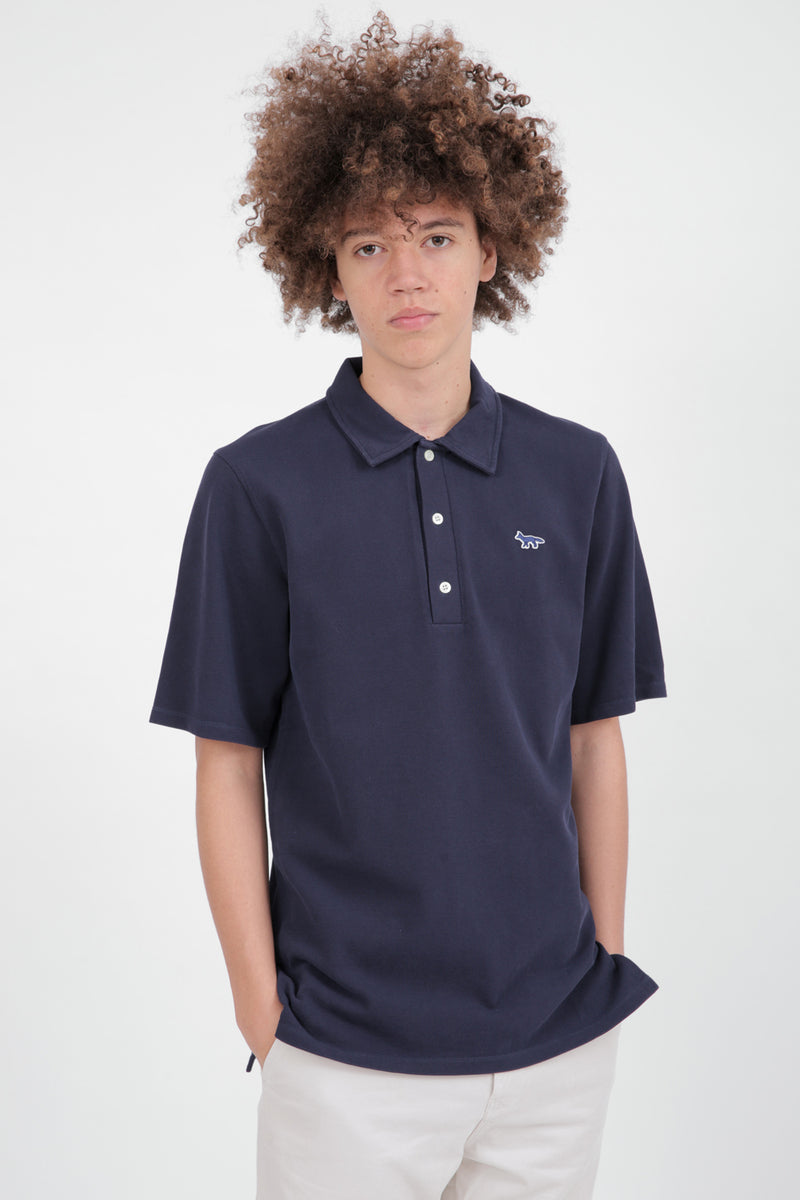 Embroidered Fox Polo