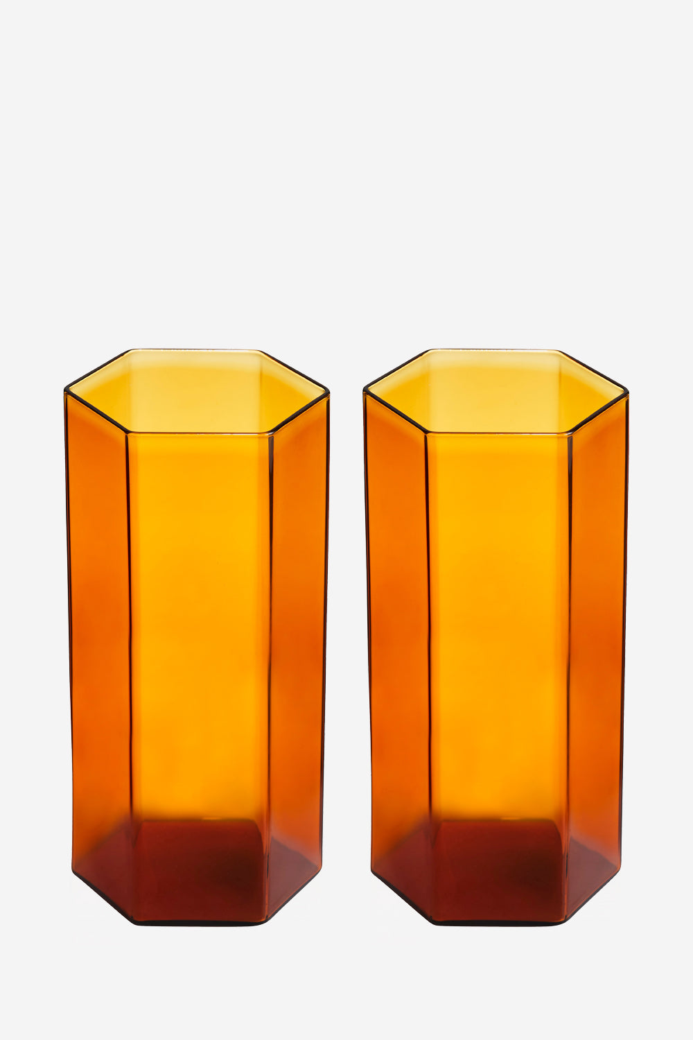 Coucou Tall Amber Glass