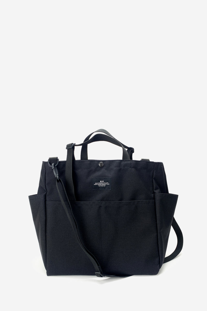 Carry All Black Beach Bag