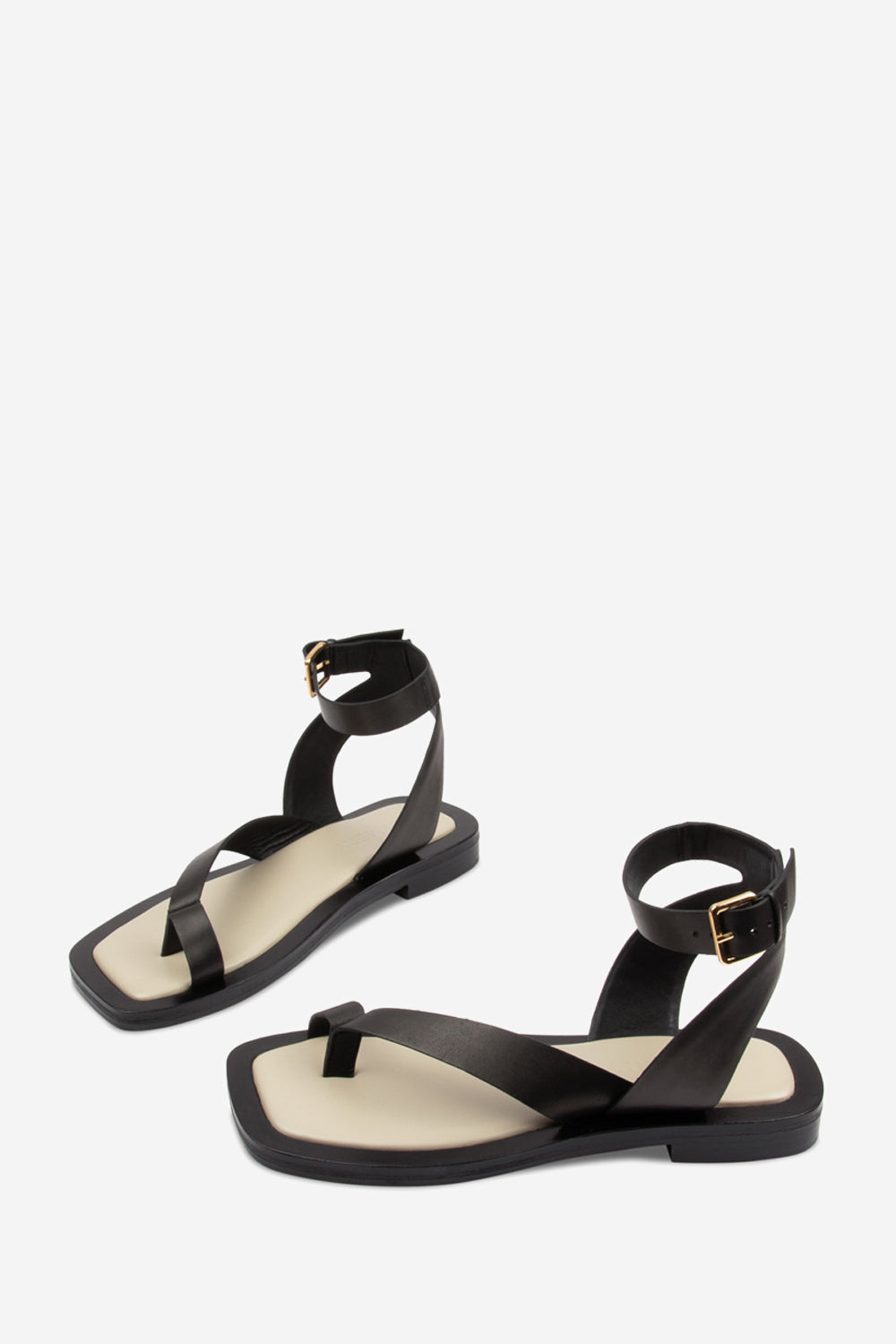 Asher Black Sandal