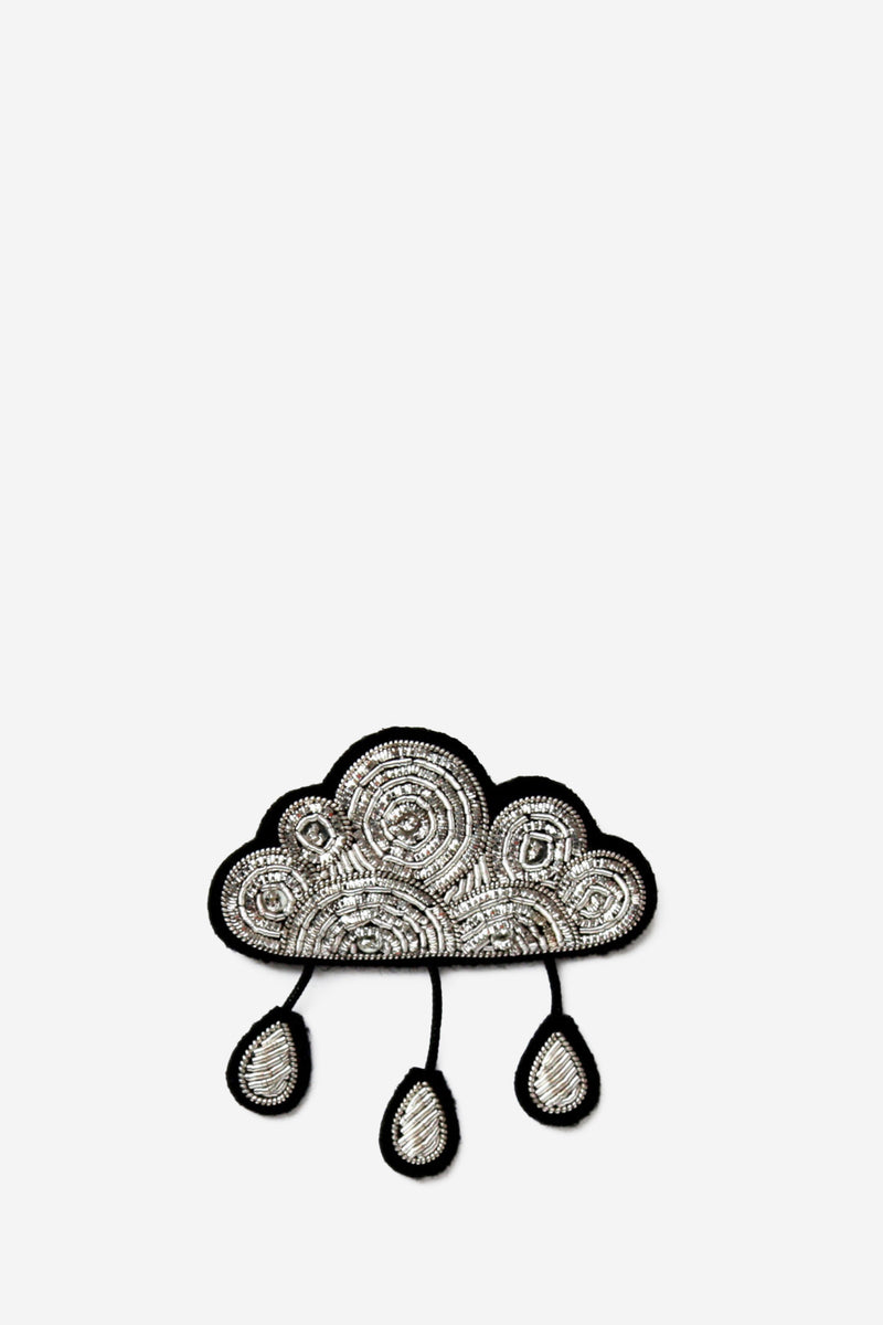 Macon & Lesquoy Rainy Cloud Brooch