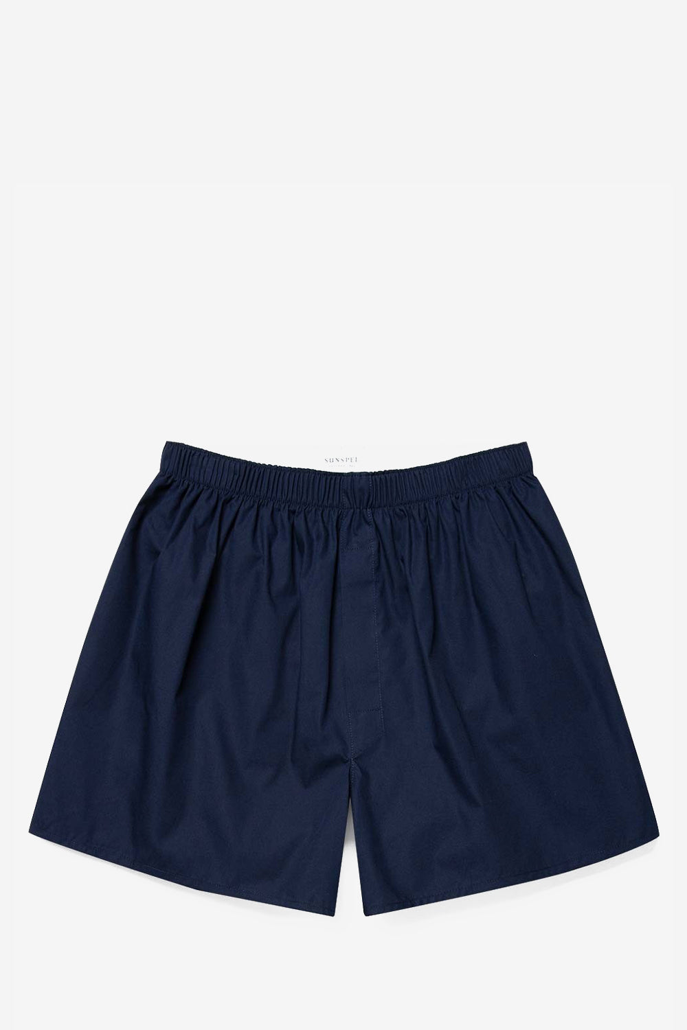 Luxury Cotton Navy Boxer