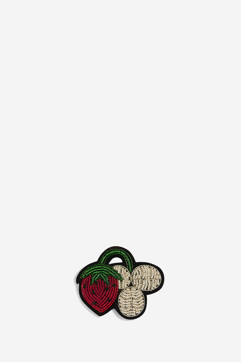 Macon & Lesquoy Strawberry Brooch