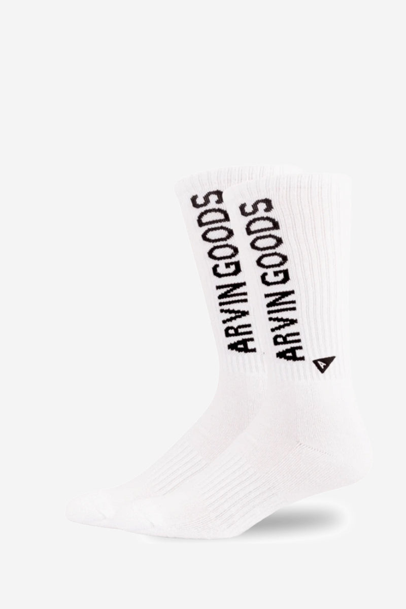 Tall Crew Branded Vertical socks