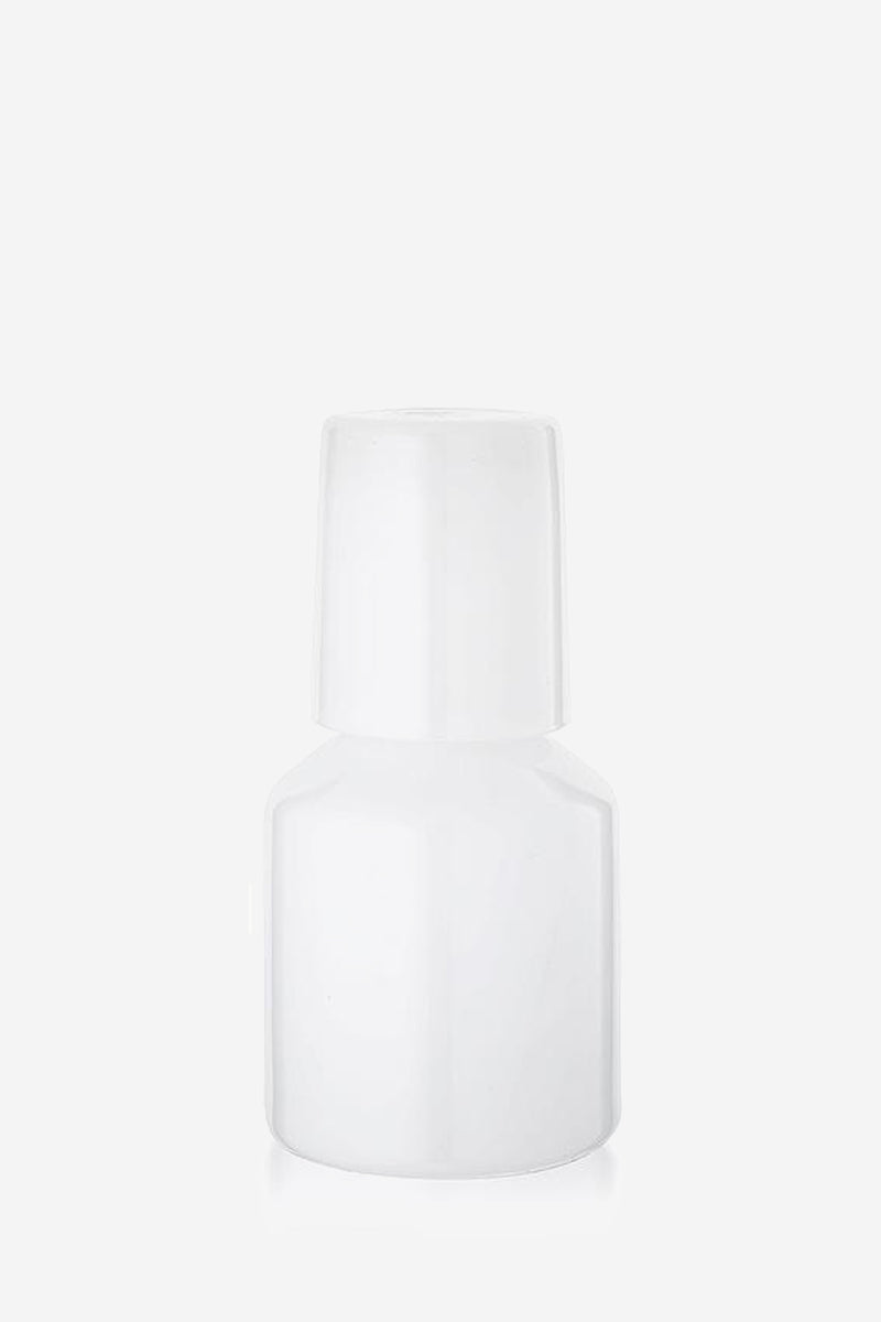 White Opaque Carafe