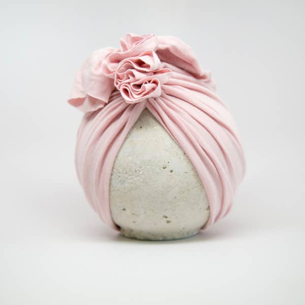 Vintage Head Wrap Hat - Blush
