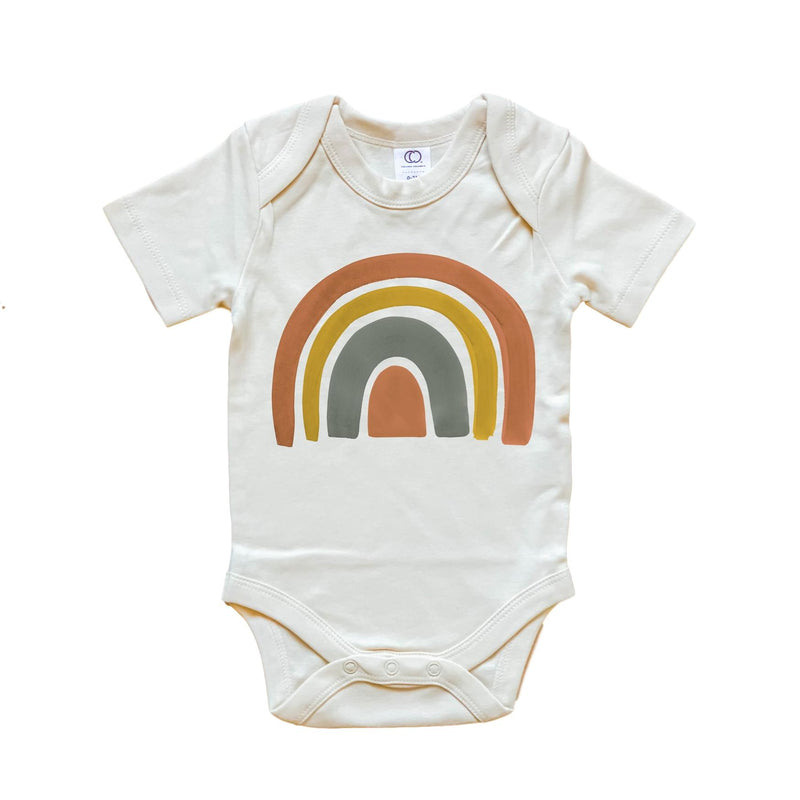 Dark Rainbow Organic Bodysuit